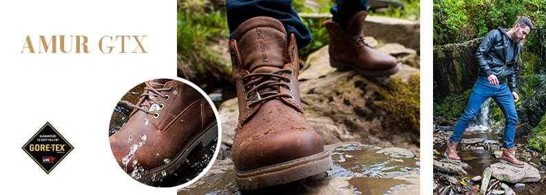 AMUR GTX Versitile and comfortable Explore a new terrain